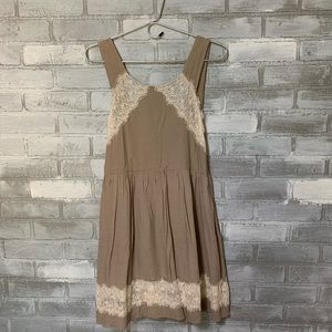 Free People | Festival Ready lace Boho Mini dress